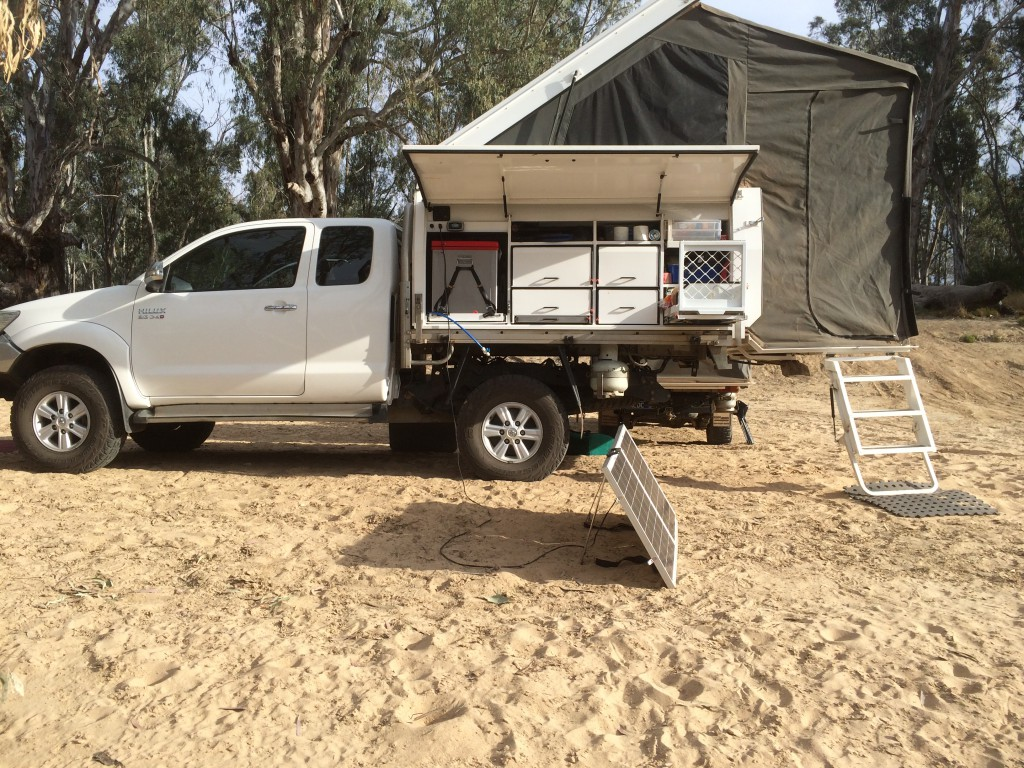 Quality Slide On Campers Australian Made Trayback